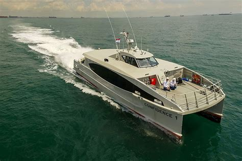 fast supply boats for sale incat crowther crewboat and fast supply