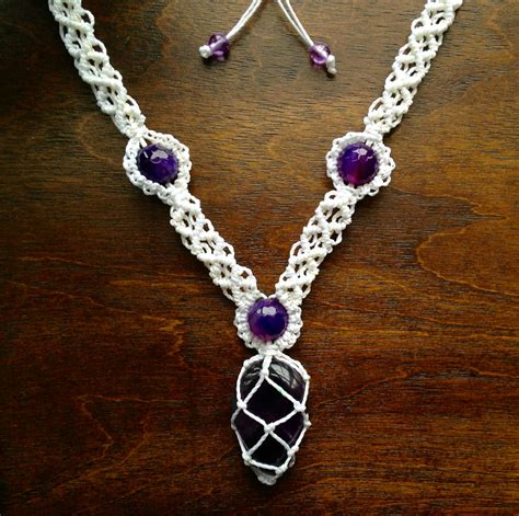how to make jewelry necklace macrame necklace