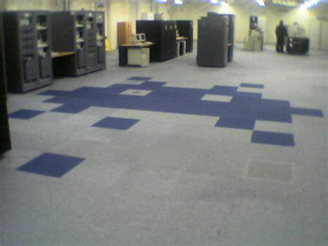 Redd Flooring by Space Invader In Computer Floor Tiles Retrogaming