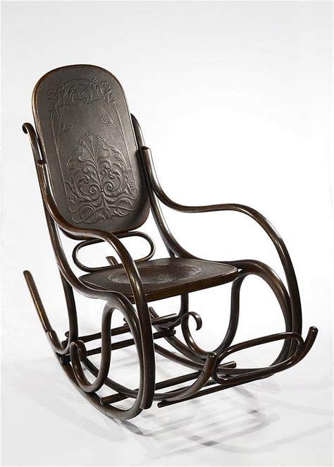 schaukelstuhl thonet thonet rocking chair