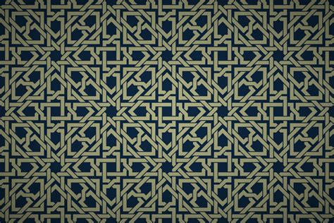 pattern islamic free islamic geometric interwoven wallpaper patterns