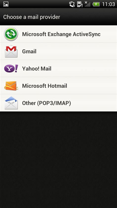 setting up email on android how to set up email on android phone or tablet pc advisor