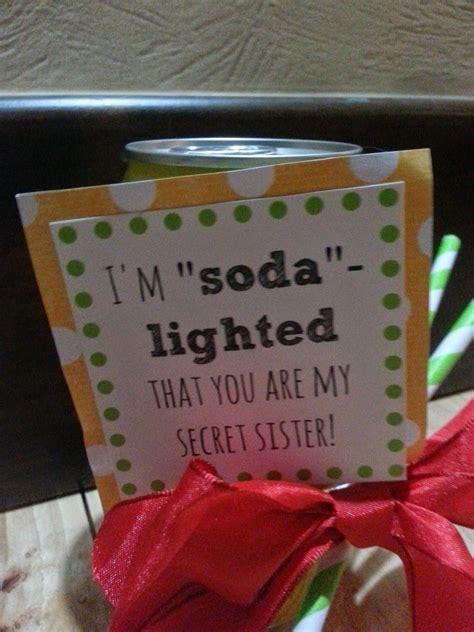 secret pal ideas cuter secret gifts church ideas