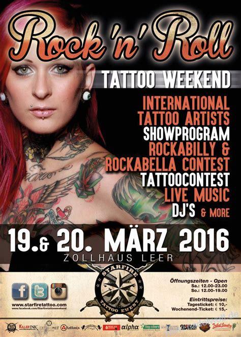 tattoo convention zollhaus leer starfire tattoo weekends 2016 nadelwelt
