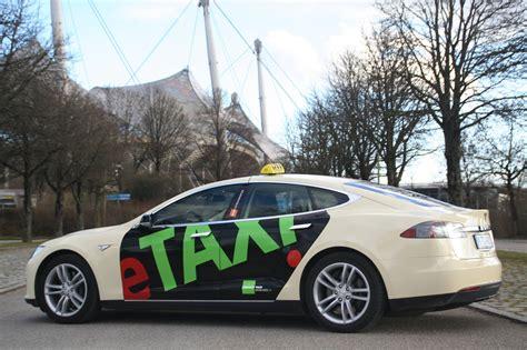 Tesla Taxi Umwelttaxi M 252 Nchen Pr 228 Sentiert Taxi Center
