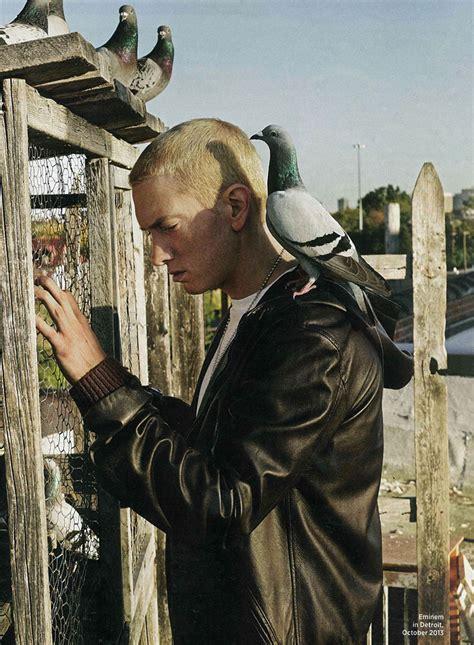 curtain rapper eminem dolce gabbana photoshoot wtf genius