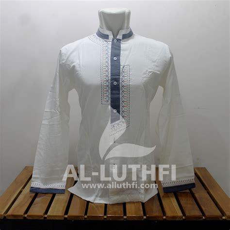Baju Koko Al Luthfi Bm Al 26 baju koko al luthfi tangan panjang al 034 al luthfi