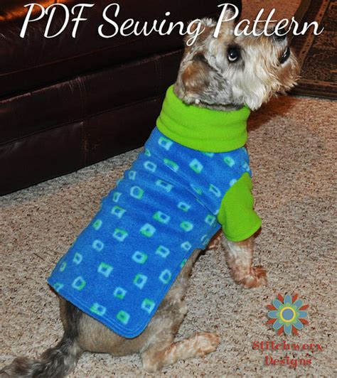 pattern dog clothes small dog clothes pdf sewing pattern small dog by stitchwerxdesigns