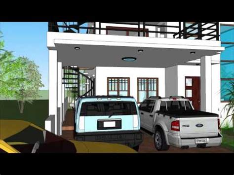 home design app roof modern house with roof deck youtube