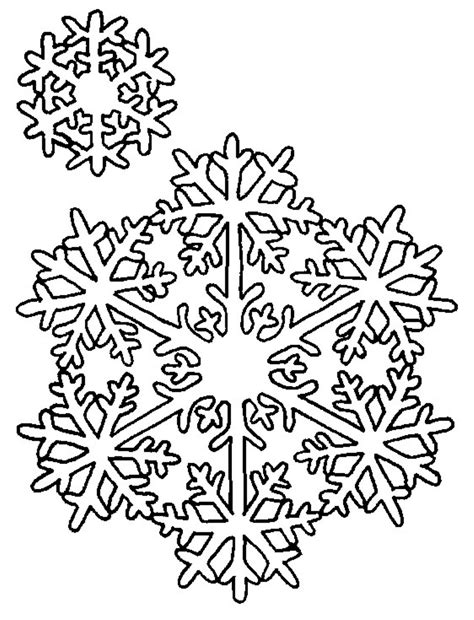 printable winter snowflakes free printable snowflake coloring pages for kids