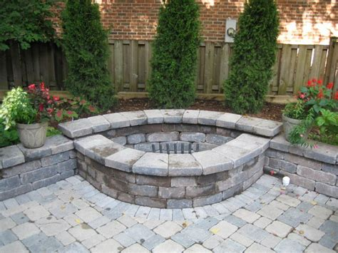Backyard Brick Pit by Best 25 Pit Designs Ideas Only On