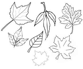 printable fall leaf cut out leaves cut out printable
