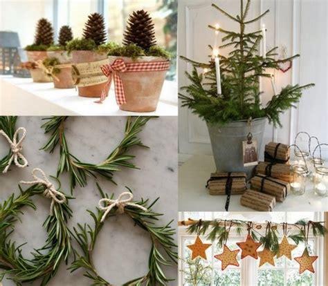 weihnachtsdekoration aussen selber machen weihnachtsdekorationen ideen tannenzweige zapfen