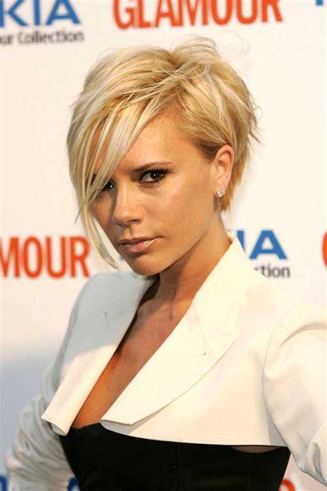 15 Victoria Beckham Blonde Bob Hairstyles   Bob Hairstyles