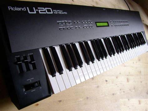 Keyboard Roland U20 for the time reviews roland u 20 audiofanzine