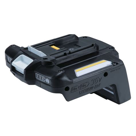 makita 36v to 18v lithium ion battery adapter the home