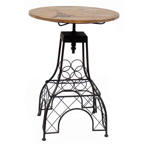 Eiffel Tower Bar Stool by New Eiffel Tower Themed Bar Table And Barstool Set