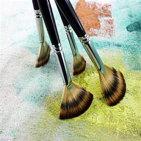fan brush oil painting popular art fan brush buy cheap art fan brush lots from