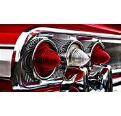 Classic Car Hot Rod Tail Light Red Chevrolet Chevy