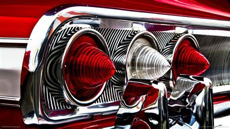 Classic Car Classic Hot Rod Tail Light Red chevrolet chevy