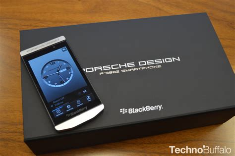 Blackberry Porsche Design by Blackberry Porsche Design P 9982 Unboxing And On