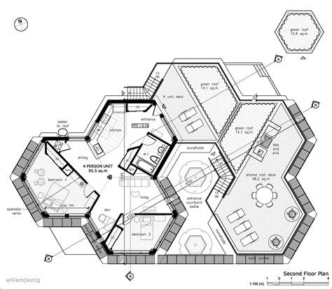 Hexagon Home Plans hexagon house plans willian g buscar con