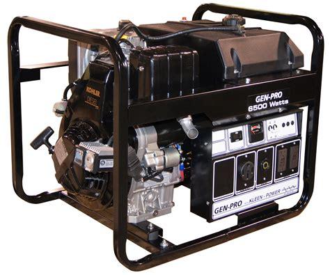 gillette portable diesel generator gped 65ek 6 5 kw 8