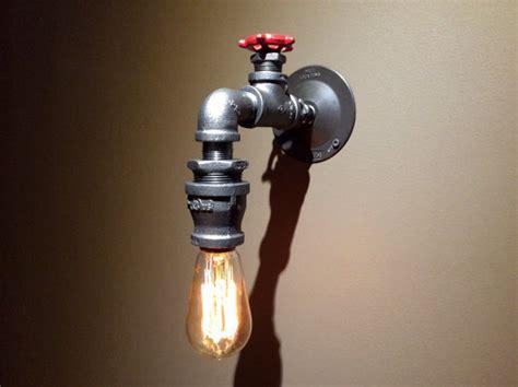 Handmade Wall Lights - industrial wall light steunk handmade