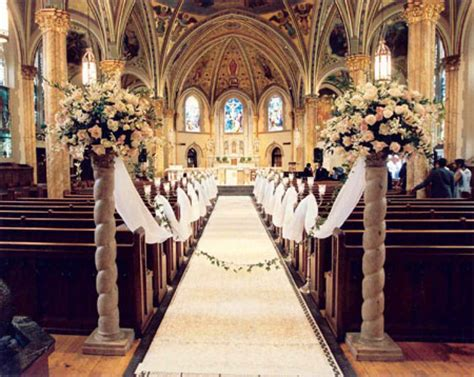 Dekoration Hochzeit Kirche by Church Wedding Decoration Add Blessedness To Your