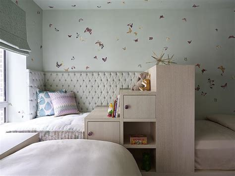 l shaped headboard l shaped kids beds contemporary girl s room
