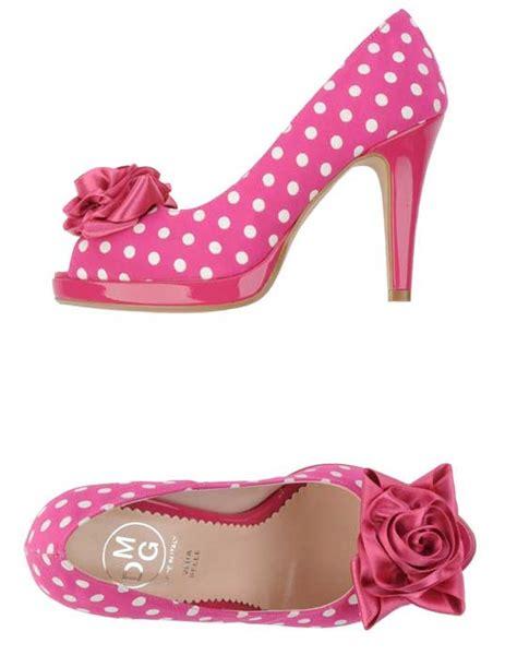 Shoe Polkadot Pink mdg pink polka dot high heels gt shoeperwoman