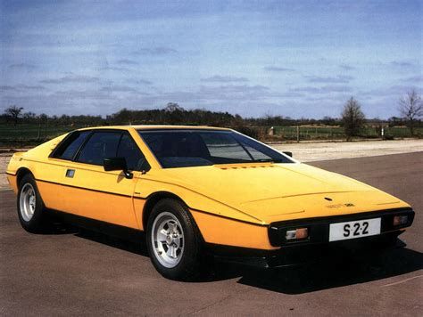 Lotus Esprit Yellow Lotus Esprit Brochure Pictures
