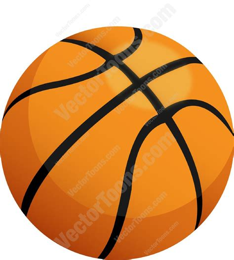 clipart basketball orange basketball clipart vector