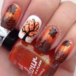 fall nail colors and designs 55 seasonal fall nail designs