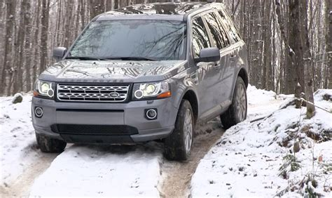 land rover freelander off 2013 land rover lr2 freelander snowy icy off road