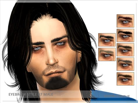 long hairstyles for men sims 4 mens brows sims 4 nexus
