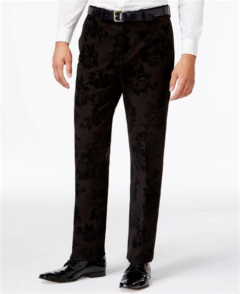 Kemeja Black Slim Fit lyst laundry slim fit black velvet floral suit in black for