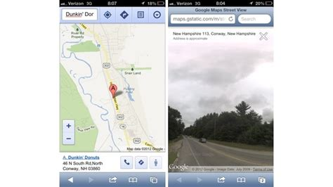Google Maps Mobile Full Version | mobile version of street view now live in google maps
