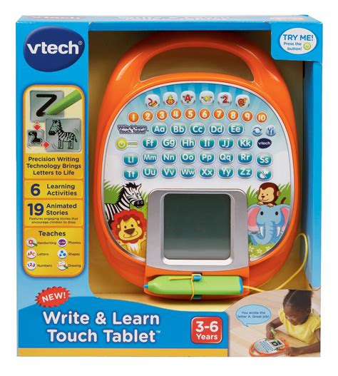 vtech write and learn buy vtech educational toys phone write and learn tote and