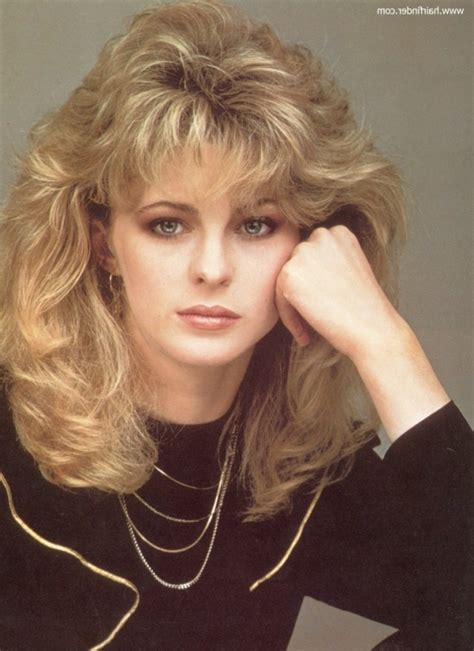 1980s hairstyles 1980s curly hairstyles for the hairstyle my salon