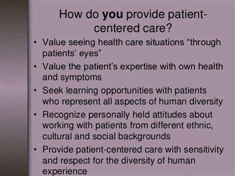 Patient Care Essay by Qsen Presentation