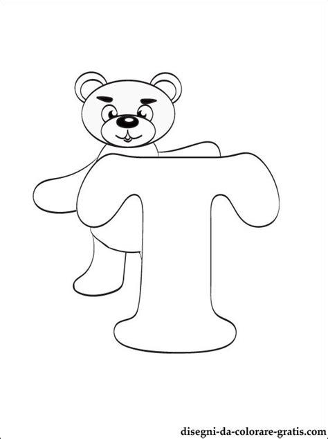lettere dell alfabeto da colorare e stare gratis lettera t disegni da colorare disegni da colorare gratis