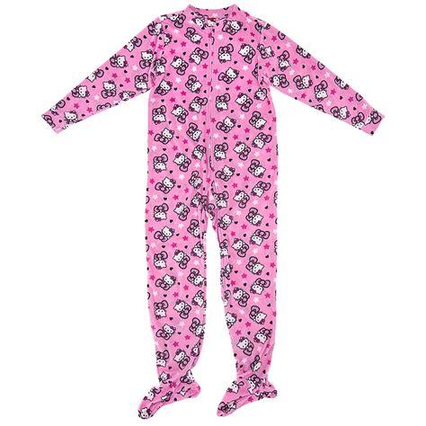 Pajamas Hello Pink hello pink footie pajamas hello pajamas and robes for juniors