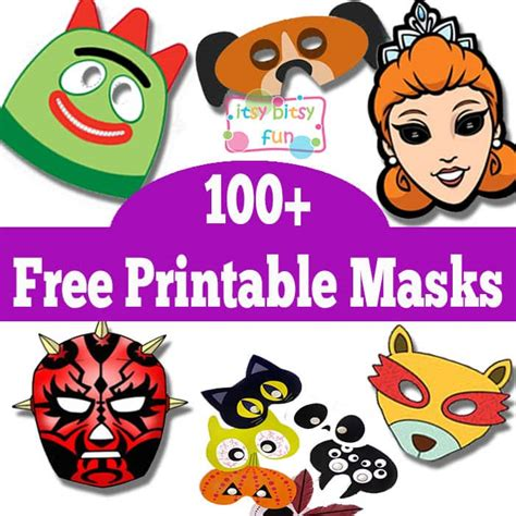 Free Printable Masks
