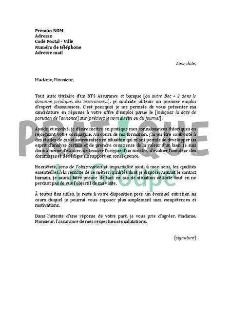 Lettre De Motivation Pour Licence Banque Assurance Finance Modele Lettre De Motivation Licence Banque Assurance