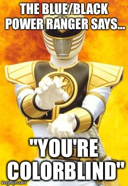 Black Power Ranger Meme - black and blue dress imgflip