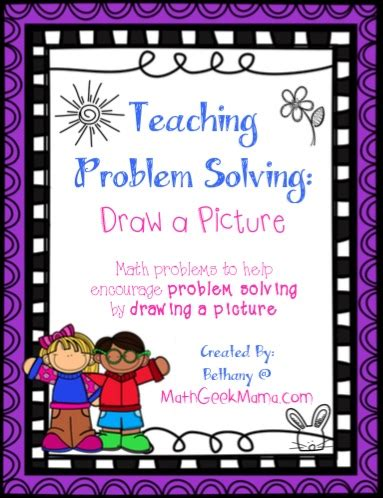 draw a diagram problem solving strategy problem solve by drawing a picture math