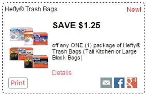 Want Some Beautiful With A Hefty Discount by New Hefty Coupons Trash Bags As Low As 5 99 At Kroger