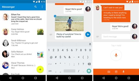 Can T Access Play Store Android Apk Gplay Link Messenger From Android 5 0 Arrives On