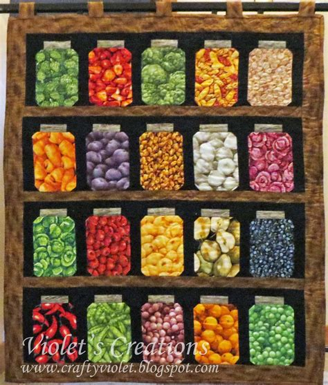 Quilt Pattern Jars | canning jar quilt pattern crafty violet s chaos grandma